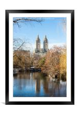 San Remo Building, New York, Framed Mounted Print