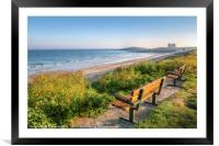 Fistral Beach and the Headland Hotel, Framed Mounted Print