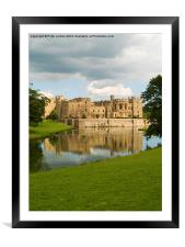 Raby Castle England, Framed Mounted Print