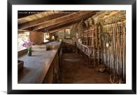 In the Potting Shed 2, Framed Mounted Print