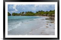 Cayo Coco after sunrise, Framed Mounted Print