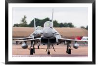 Royal Air Force Typhoon FGR.4 pair, Framed Mounted Print