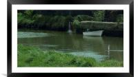 River Ouse, Framed Mounted Print
