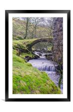 Fell End Gill. Dentdale, North Yorkshire, Framed Mounted Print