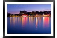 Scarborough, North Yorkshire, Framed Mounted Print