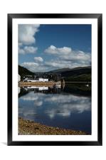 Reflections of Inveraray, Framed Mounted Print