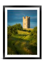 Broadway Tower, Framed Mounted Print