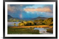 Lough Lean, Killarney National Park, Ireland, Framed Mounted Print