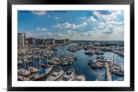Ipswich Harbour, Framed Mounted Print