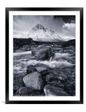 Moody Buachie, Framed Mounted Print
