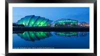 Music Venues in Glasgow, Framed Mounted Print