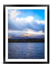 Touching the Clouds, Framed Mounted Print