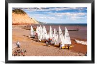 Sidmouth Sailing , Framed Mounted Print