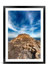 The Giant's Causeway, Framed Mounted Print