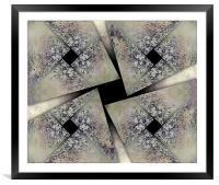 Domino Shields Large, Framed Mounted Print
