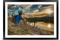 Let your bike take you places, Framed Mounted Print