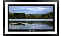 Loch View, Framed Mounted Print