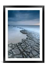 Lilstock Pavement, Framed Mounted Print