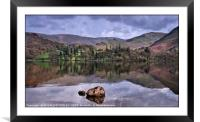 """""""Reflections across Ullswater"""", Framed Mounted Print"""