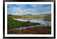 """""""Sunny day at Ennerdale water"""", Framed Mounted Print"""