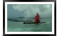 """""""Lighting the way"""", Framed Mounted Print"""