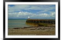 """""""The Beacon Maryport"""", Framed Mounted Print"""
