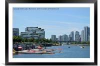 The beuties of Vancouver,, Framed Mounted Print