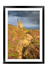 Path to the Engine House, Framed Mounted Print