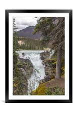 Falls view, Framed Mounted Print