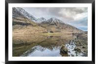 Loch reflections, Framed Mounted Print