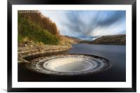 Plughole, Framed Mounted Print