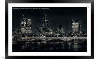 Walkie Talkie and friends, Framed Mounted Print