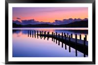 Coniston Jetty, Framed Mounted Print