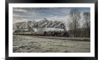 13065 at Ramsbottom, Framed Mounted Print