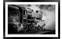 45428 'Eric Treacy' at Grosmont, Framed Mounted Print