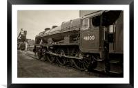 46100 'The Royal Scot', Framed Mounted Print