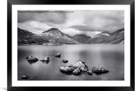 Wastwater , Framed Mounted Print