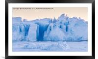 Kangia Ice Sculpture, Framed Mounted Print