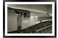 Steaming Away, Framed Mounted Print