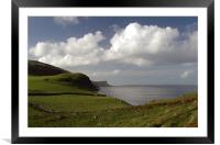 Torr Head View, Framed Mounted Print