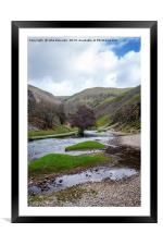 Dovedale, Framed Mounted Print