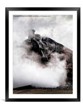 Lost in Steam, Framed Mounted Print