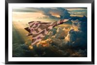 2015 The Last Tour of XH558, Framed Mounted Print
