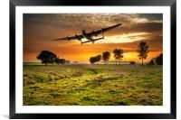 Low pass, Framed Mounted Print