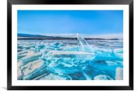 Treasure of Baikal, Framed Mounted Print