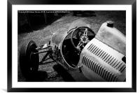 Cooper 500 F3 in paddock, Framed Mounted Print