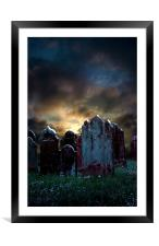 Nightmare Hill, Framed Mounted Print