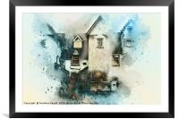 Old House, Framed Mounted Print