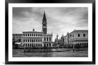 The Doge's Palace, Framed Mounted Print