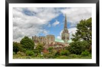Chichester Cathedral, Framed Mounted Print